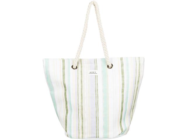 Roxy Sunseeker Tote Women bright white kamuela stripe s